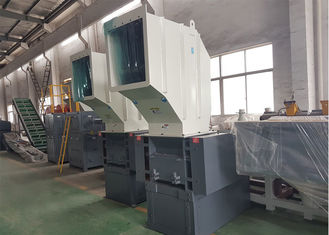 Recycling Waste Plastic Crusher Machine High Efficiency Overload Protection