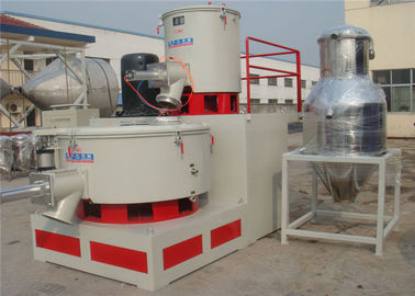 Automatic Control Plastic Raw Material Mixer , Double Sealed High Speed Pvc Mixer Machine