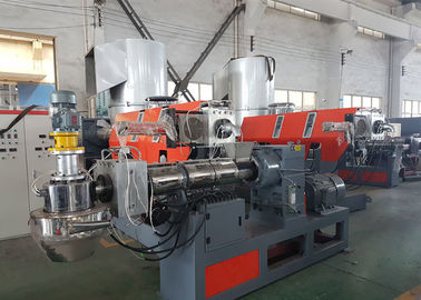 China High Speed Plastic Granules Making Machine , Pe Film Plastic Recycling Extruder Machine supplier