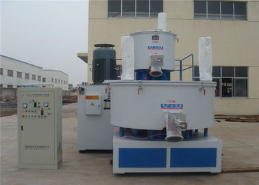 Big Effective Volume Plastic Pellet Mixer , Hot / Cold Plastic Mixture Machine