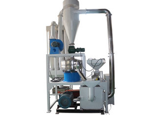 China High Efficiency Plastic Powder Making Machine , Pet / PVC Milling Plastic Powder Grinder supplier