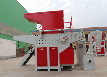 Full Automatic Industrial Sized Shredder , Large Scale Garbage Shredder Machine