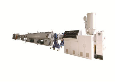 Energy Saving Ppr Pipe Extrusion Machine , Ppr Pipe Production Line Long Service Life