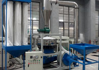 Stainless Steel Pvc Pulverizer Machine , Customerized Pet Bottle Grinding Machine
